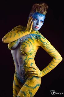 Bodypaint-by-numbers-yellow-bodypaint